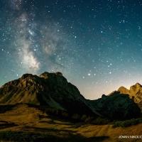 Mlečni put iznad Komova